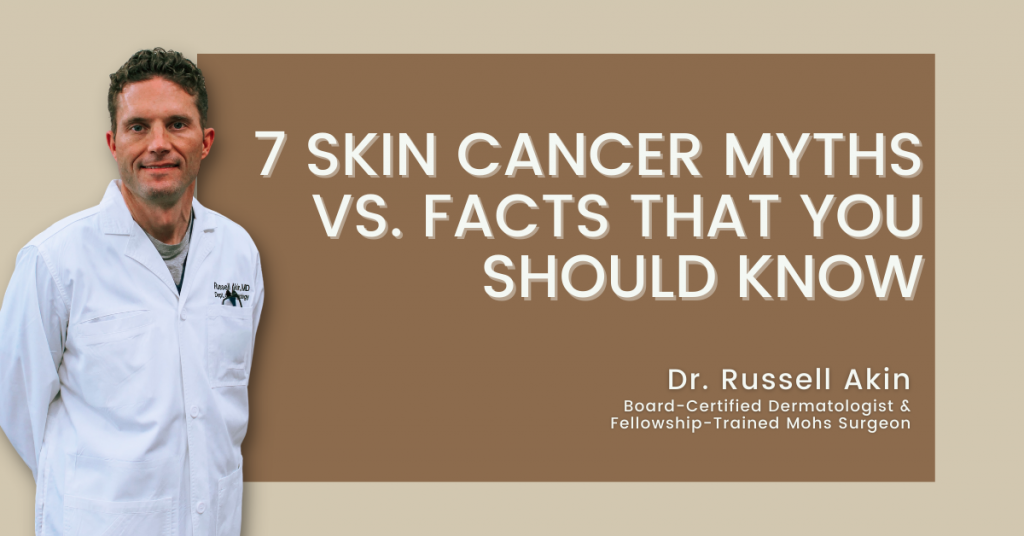 Skin cancer myths and facts