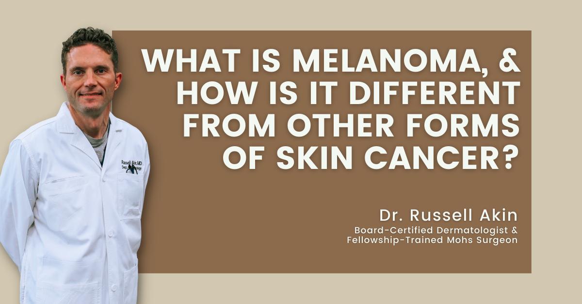 what makes melanoma different